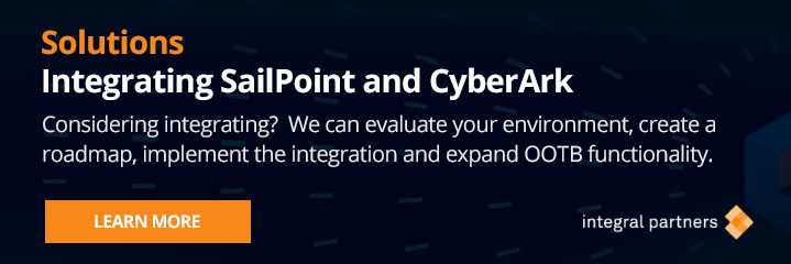 Integrating SailPoint CyberArk